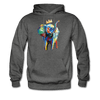 Image of Men's Elephant x Crown Hoodie - charcoal gray