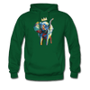 Image of Men's Elephant x Crown Hoodie - forest green