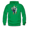 Image of Men's Elephant x Crown Hoodie - kelly green