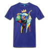 Image of Men's Premium T-Shirt - royal blue