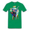 Image of Men's Premium T-Shirt - kelly green