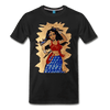 Image of Desi Wonder Women's Men's Tee - black
