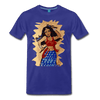 Image of Desi Wonder Women's Men's Tee - royal blue