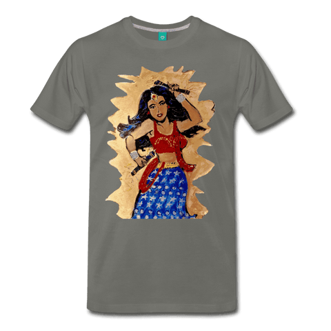 Desi Wonder Women's Men's Tee - asphalt gray