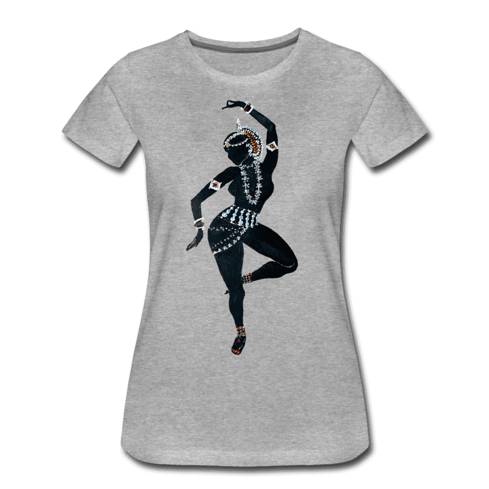 Odissi  Dancer Women's Tee - heather gray