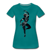 Image of Odissi  Dancer Women's Tee - teal