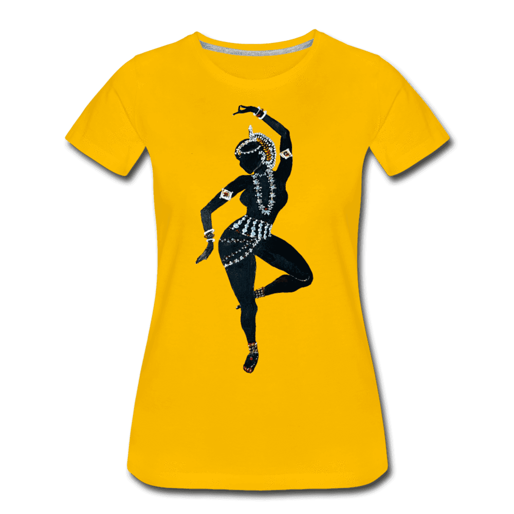 Odissi  Dancer Women's Tee - sun yellow
