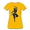 Image of Odissi  Dancer Women's Tee - sun yellow