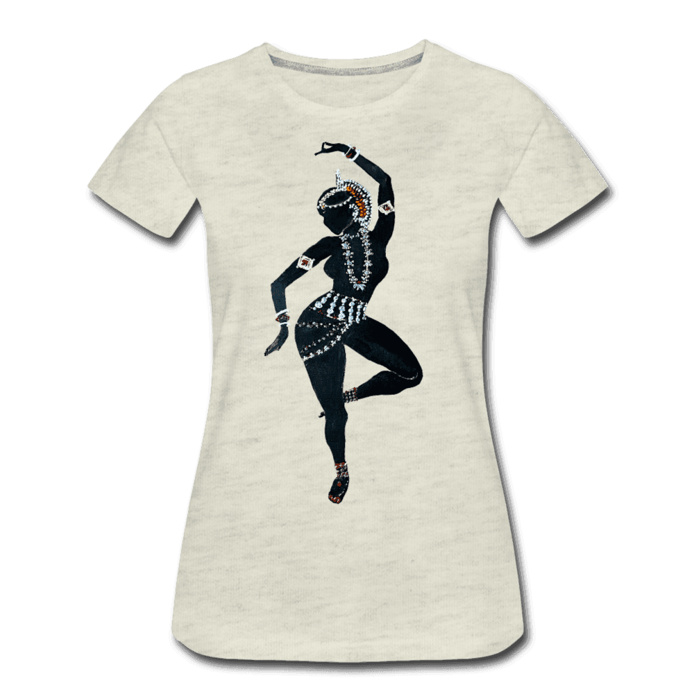 Odissi  Dancer Women's Tee - heather oatmeal