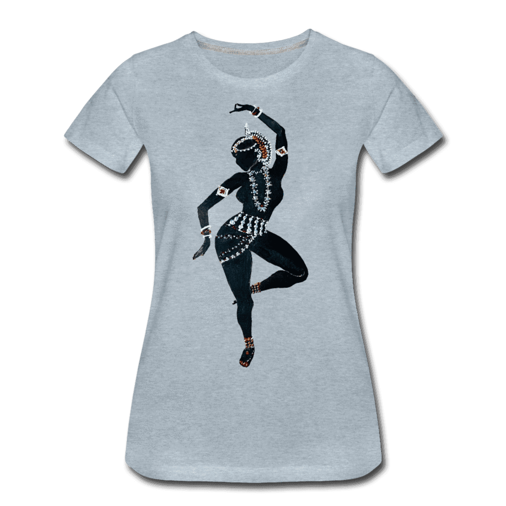 Odissi  Dancer Women's Tee - heather ice blue