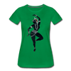 Image of Odissi  Dancer Women's Tee - kelly green