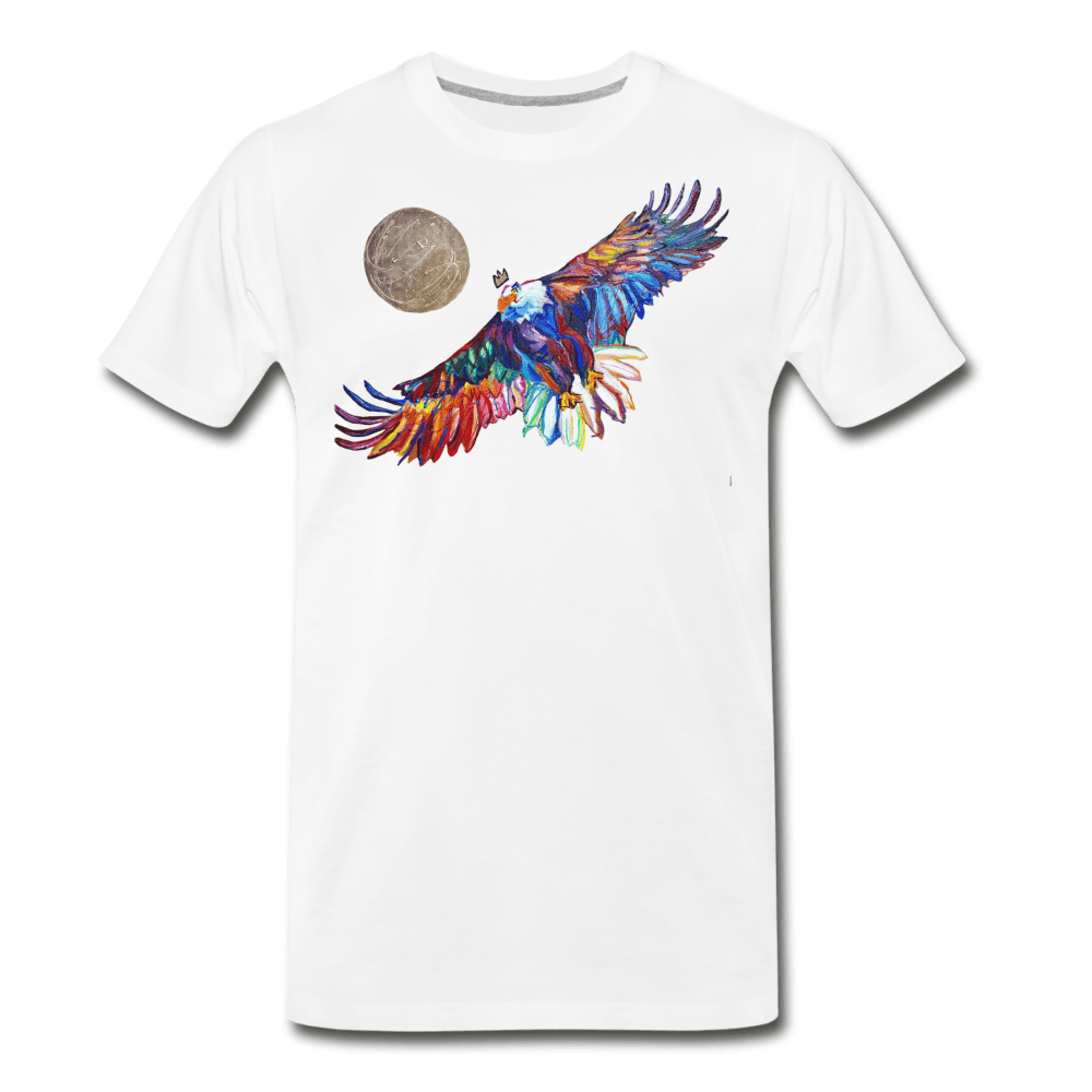 My America Men's T-Shirt - white