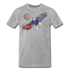 Image of My America Men's T-Shirt - heather gray