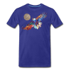 Image of My America Men's T-Shirt - royal blue