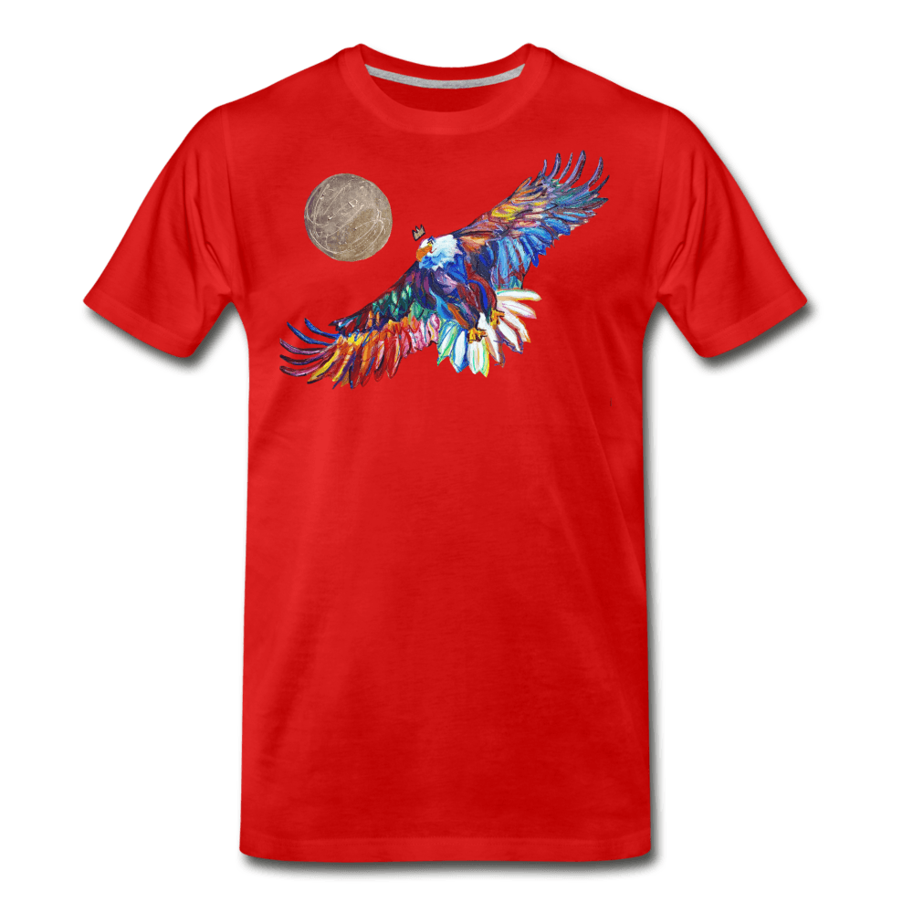 My America Men's T-Shirt - red