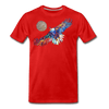 Image of My America Men's T-Shirt - red