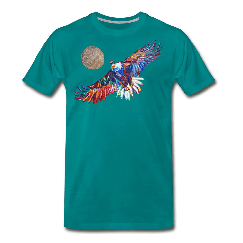 My America Men's T-Shirt - teal