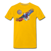 Image of My America Men's T-Shirt - sun yellow