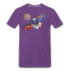 Image of My America Men's T-Shirt - purple