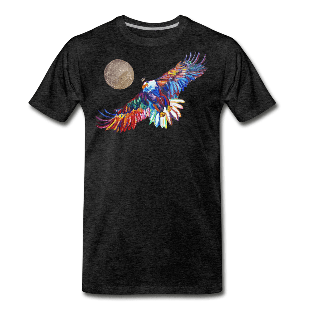 My America Men's T-Shirt - charcoal gray