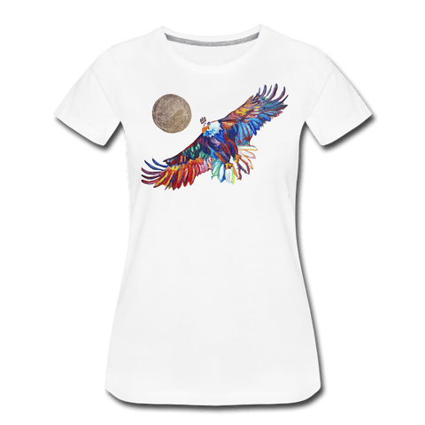 My America Women's T-Shirt - white