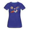 Image of My America Women's T-Shirt - royal blue
