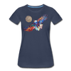 Image of My America Women's T-Shirt - navy