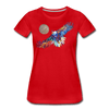 Image of My America Women's T-Shirt - red