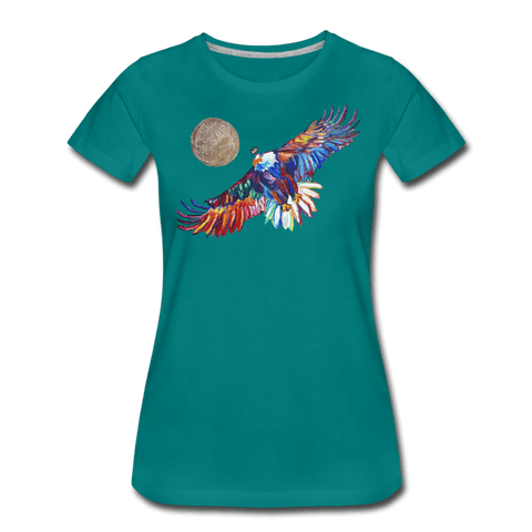 My America Women's T-Shirt - teal