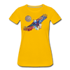 Image of My America Women's T-Shirt - sun yellow
