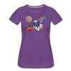 Image of My America Women's T-Shirt - purple