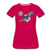 Image of My America Women's T-Shirt - dark pink