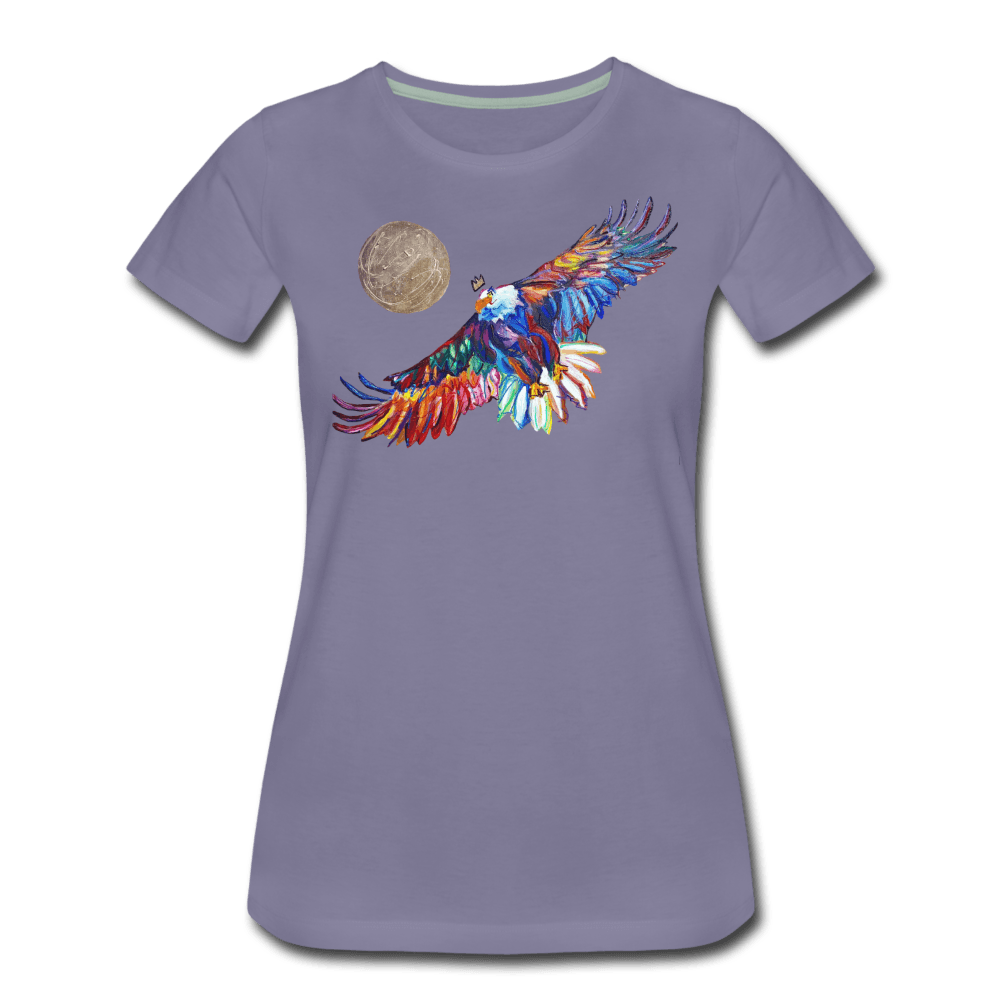 My America Women's T-Shirt - washed violet