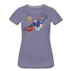 Image of My America Women's T-Shirt - washed violet