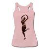 Image of Temple Dancer Racerback Tank - heather dusty rose