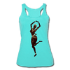 Image of Temple Dancer Racerback Tank - turquoise