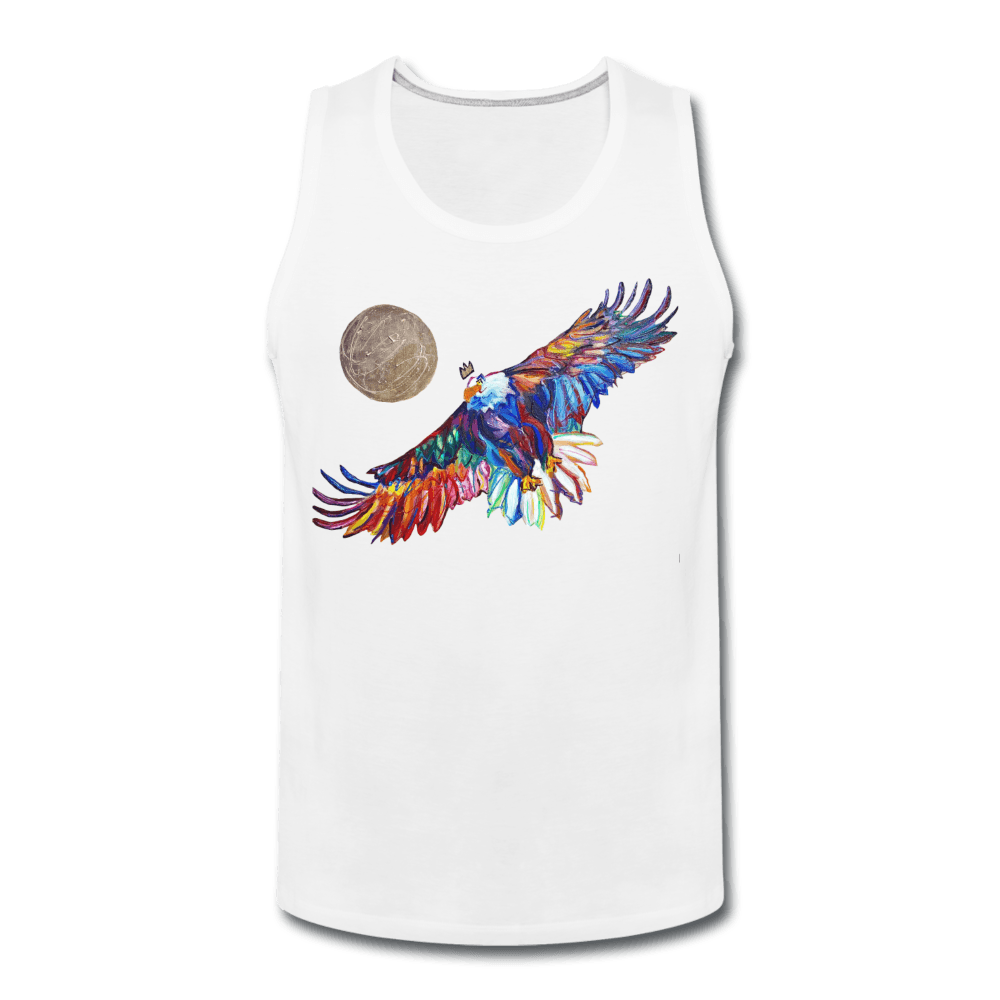 My America Men's Tank - white