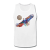 Image of My America Men's Tank - white