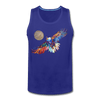 Image of My America Men's Tank - royal blue