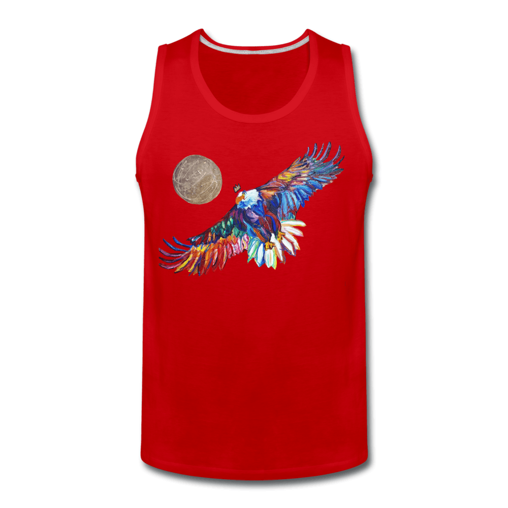 My America Men's Tank - red