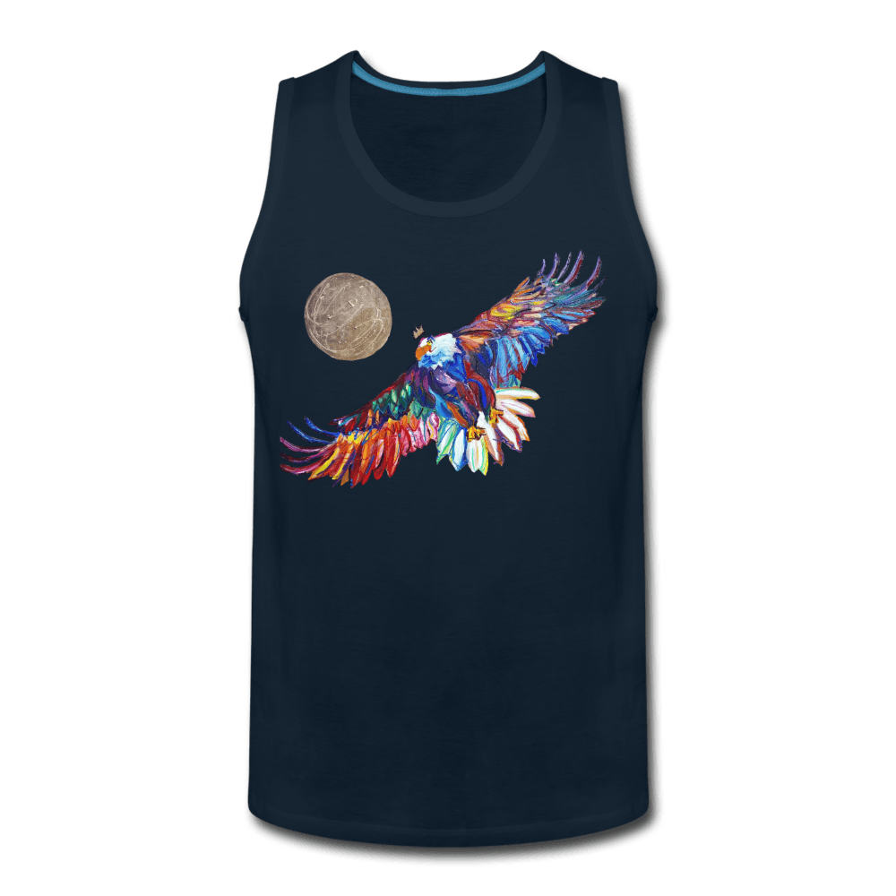 My America Men's Tank - deep navy