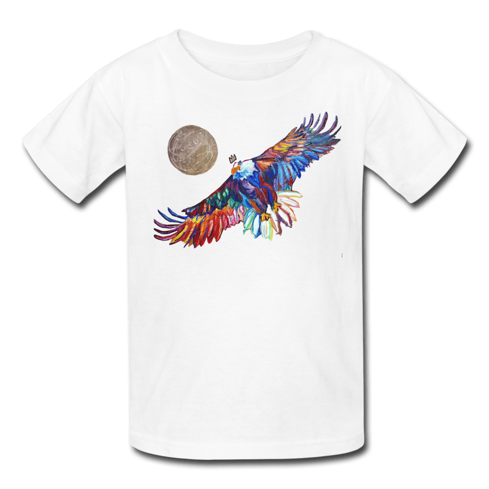 My America Kids' T-Shirt - white