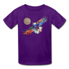 Image of My America Kids' T-Shirt - purple