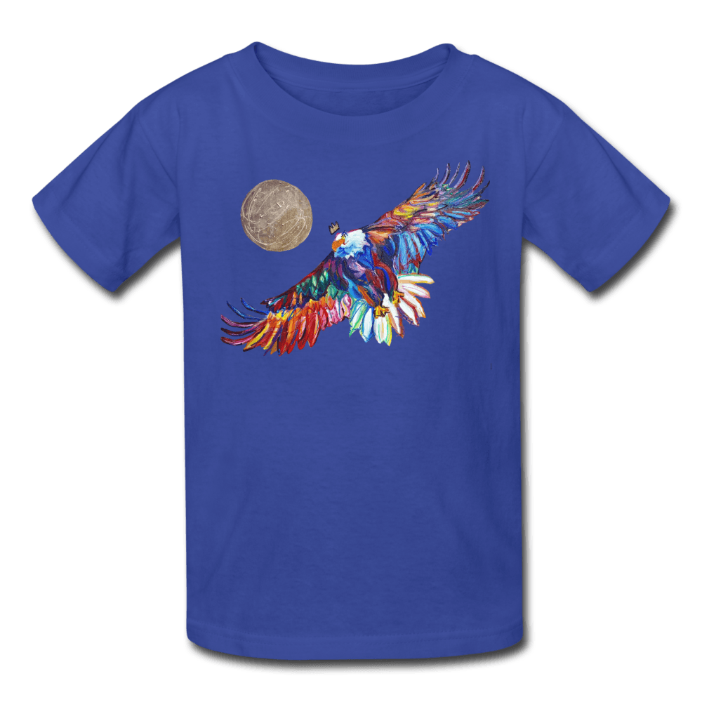 My America Kids' T-Shirt - royal blue