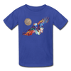 Image of My America Kids' T-Shirt - royal blue