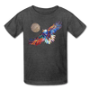 Image of My America Kids' T-Shirt - heather black
