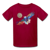 Image of My America Kids' T-Shirt - dark red