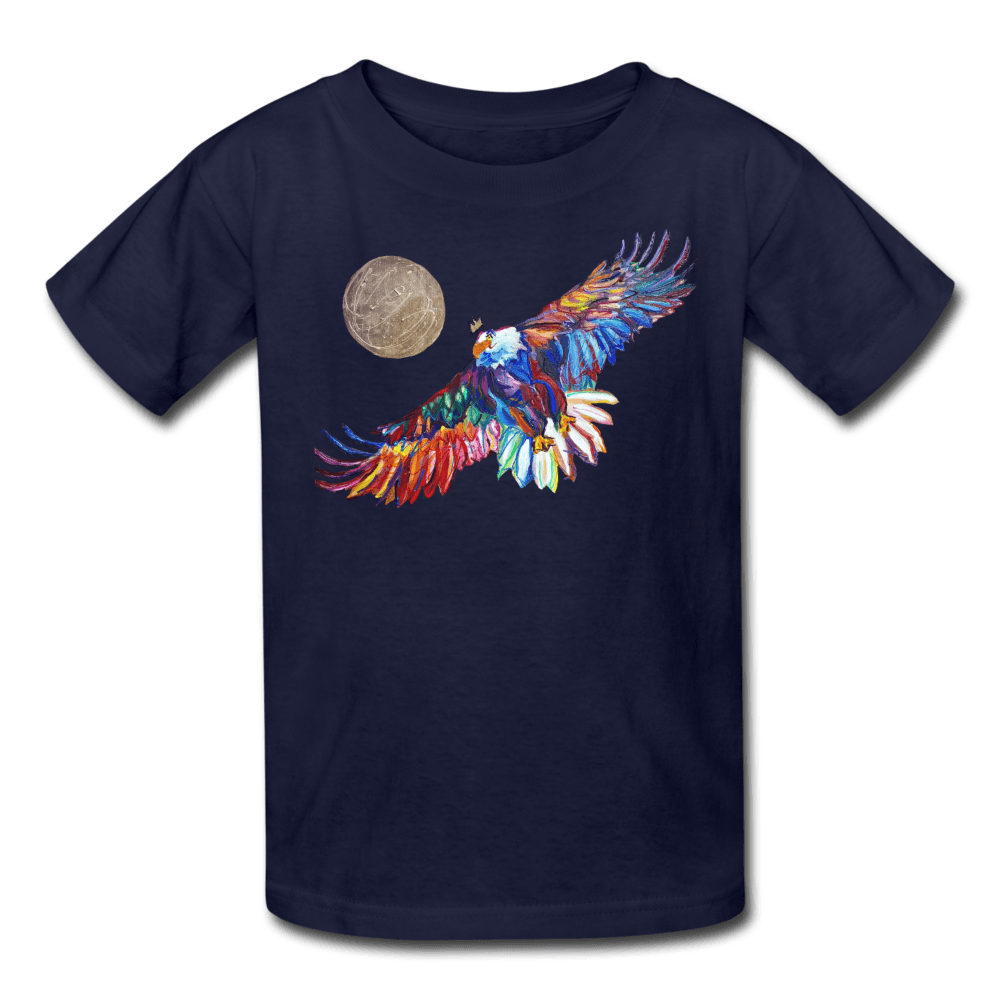 My America Kids' T-Shirt - navy