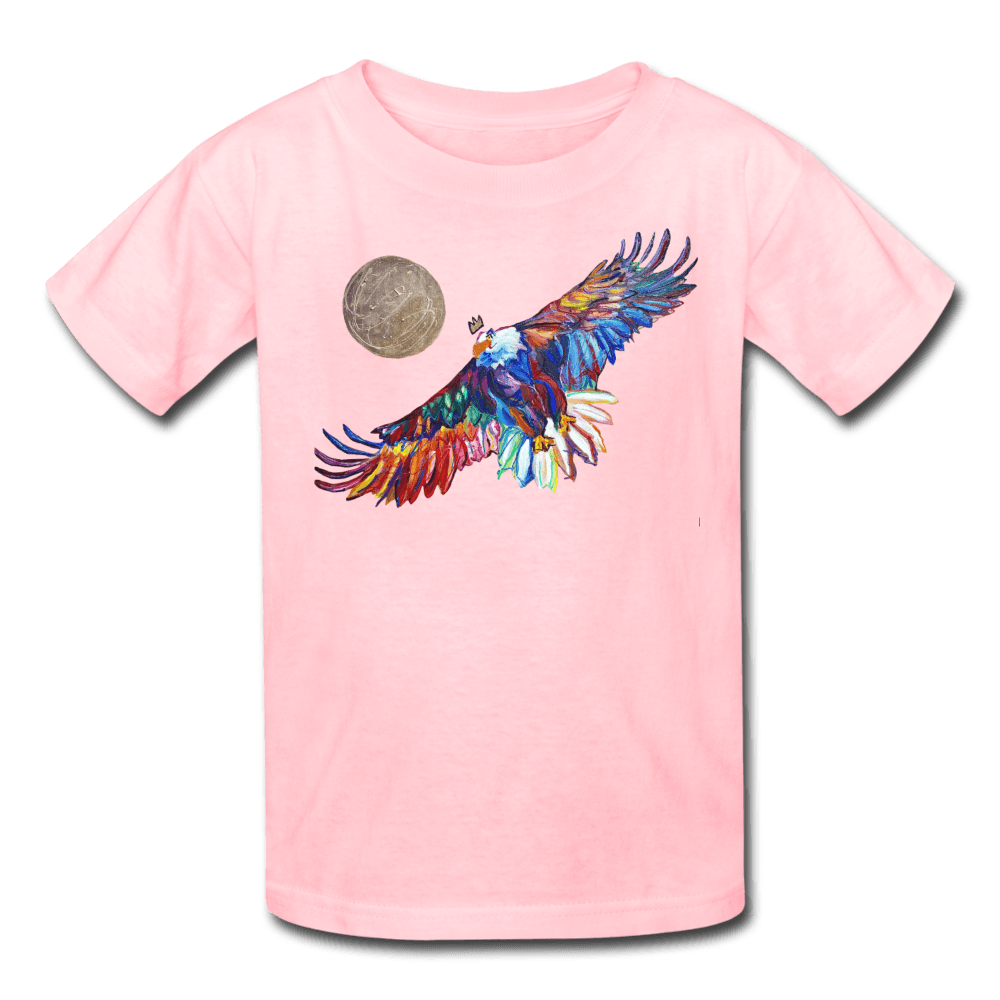 My America Kids' T-Shirt - pink