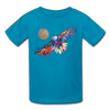 Image of My America Kids' T-Shirt - turquoise